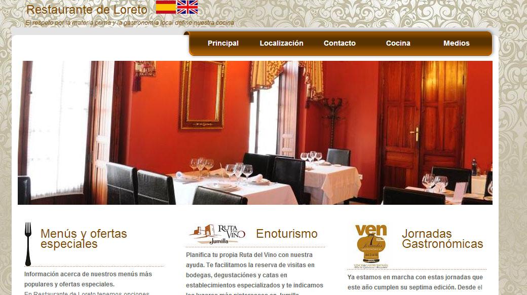 En restaurante de loreto cocina de autor y tradicional se for Que es cocina de autor