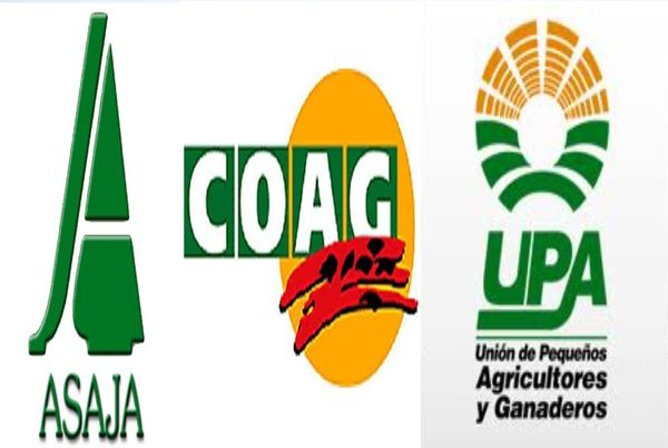 UPA, Coag y Asaja