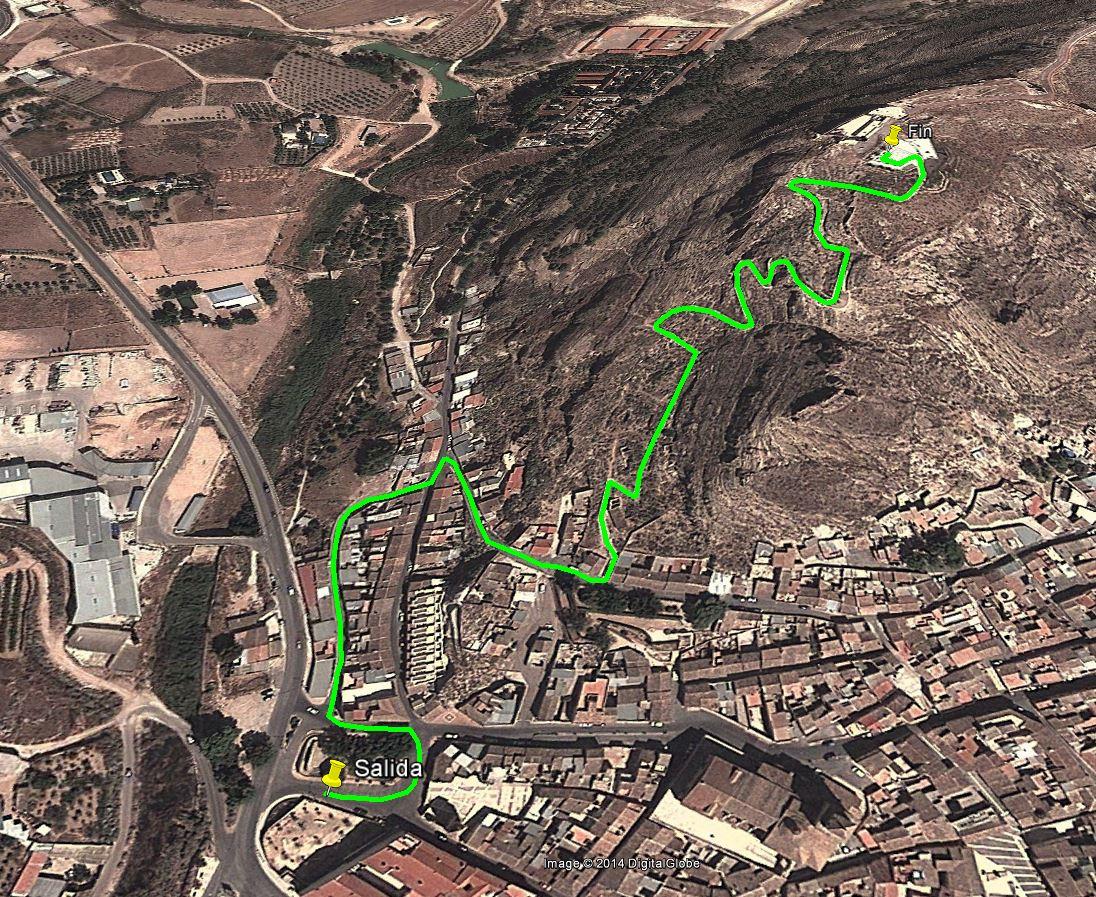 Circuito Jumilla : El castillo de jumilla será la meta de la i cronoescalada u201cel asalto