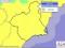 Alerta amarilla en toda la Región de Murcia por lluvias