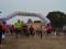 Medio centenar de corredores y sus perros desafiaron a la lluvia en el III Canicross Solidario