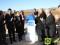 La ministra de Fomento, Ana Pastor, ha colocado esta mañana la primera piedra de la autovía A-33 Jumilla-Yecla