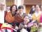 Cientos de personas le ofrecieron sus flores y ramos al Cristo de la Columna