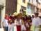 El Barrio de San Fermín finalizó sus actos con el pasacalles y la misa en honor a su patrón