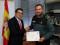 La Guardia Civil felicita a Francisco Campillo por su excelente colaboración
