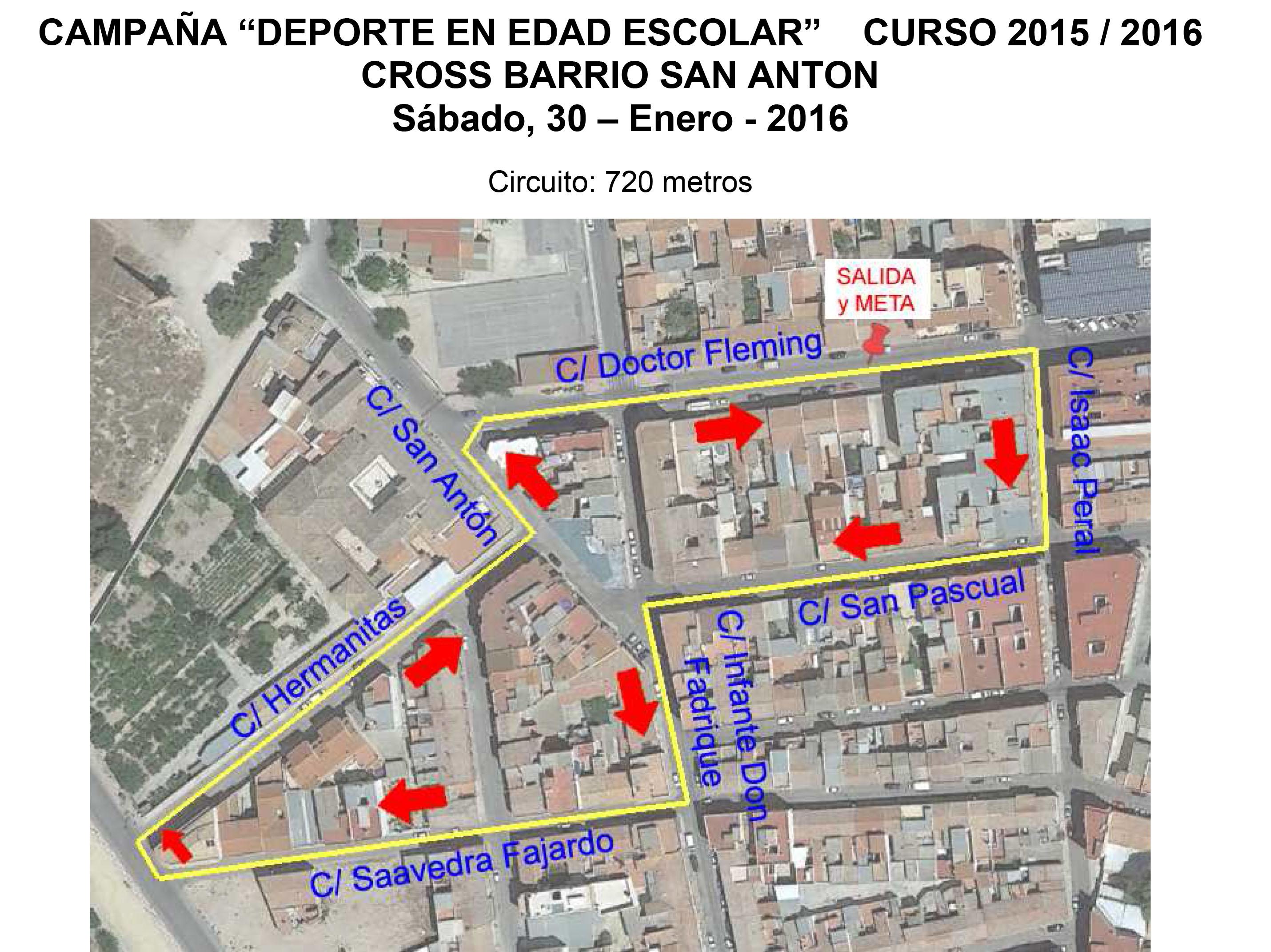 Circuito Jumilla : Disponibles la normativa y el circuito del cross san antón el eco