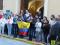 Concentración silenciosa, en las puertas del Ayuntamiento de Jumilla, para recordar a las víctimas del terremoto de Ecuador