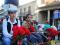 Los jumillanos depositan miles de flores a la imagen del Cristo Amarrado a la Columna