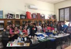 Los alumnos de 3º ESO con sus bodegones literarios
