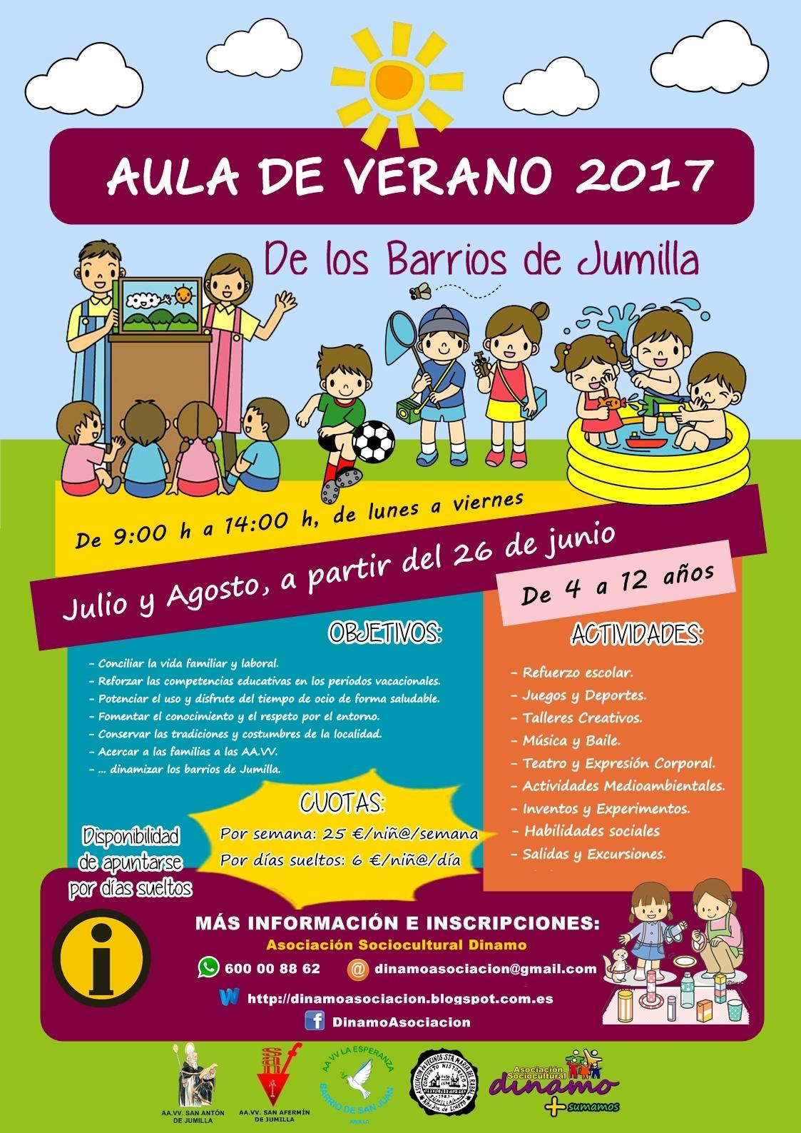 cartel_aula verano_barrios jumilla_2017 (1)