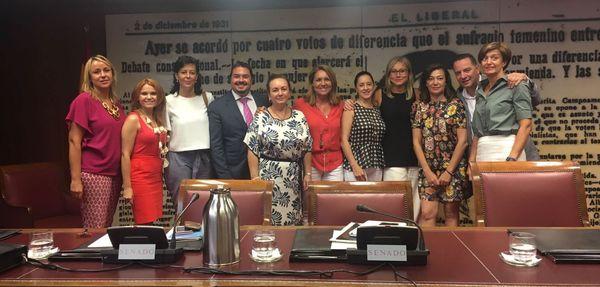 Foto Severa González. Comisión Igualdad PP Sendado