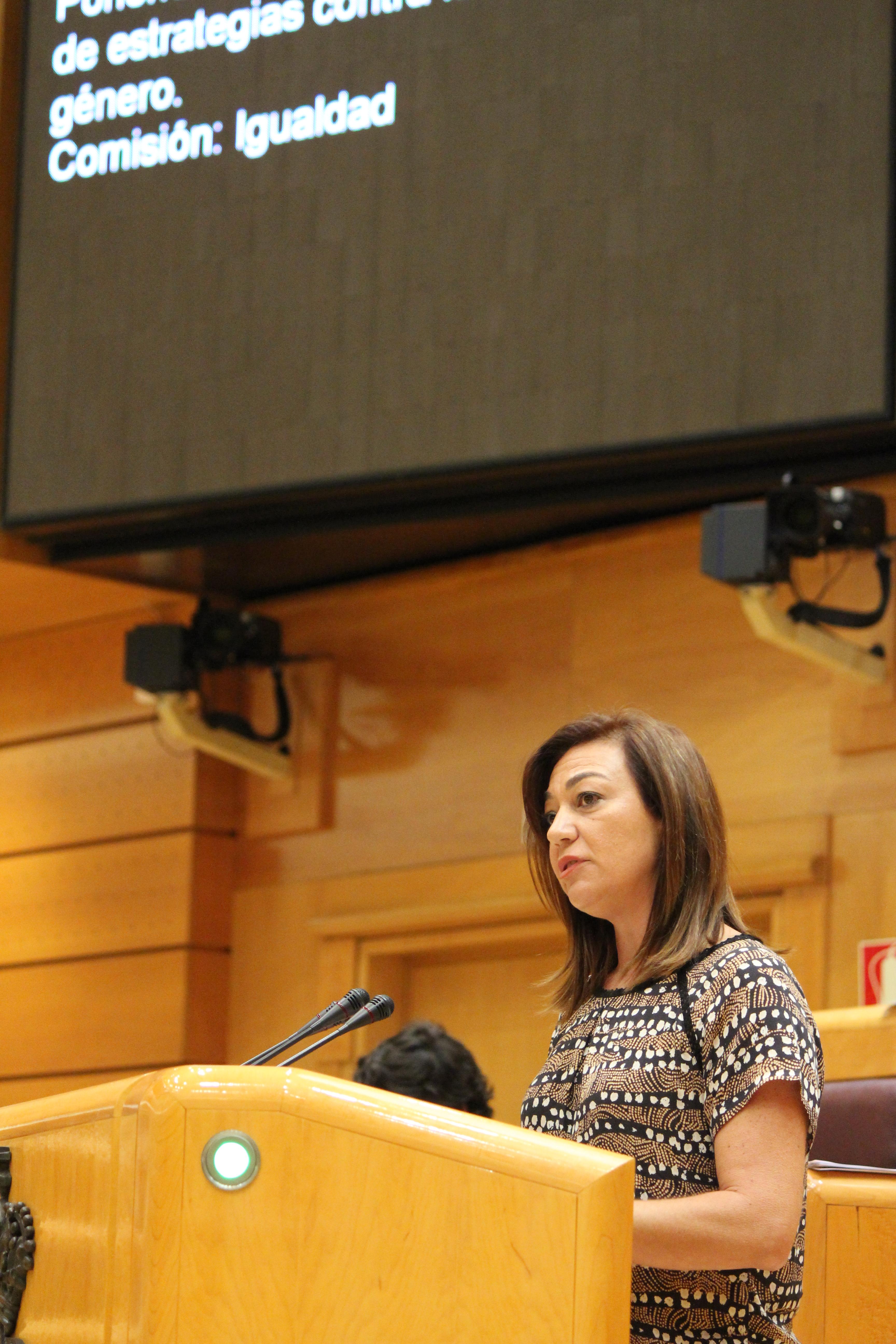 Foto Severa González. Comisión Violencia género