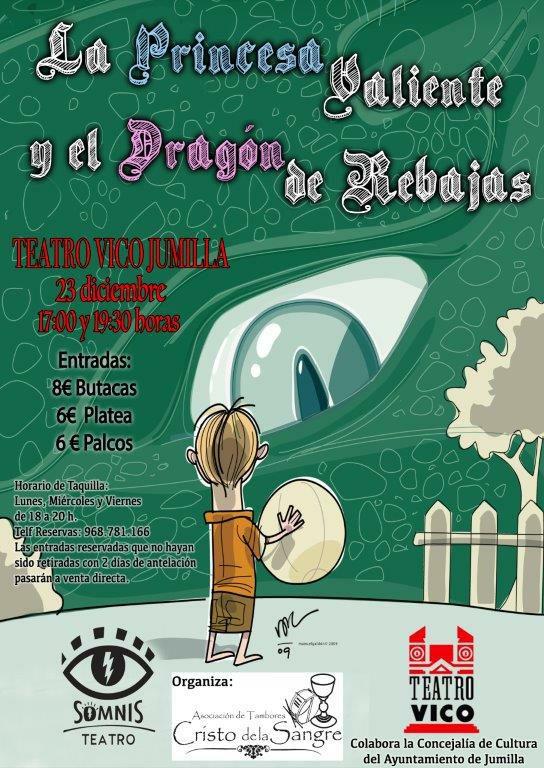 La princesa valiente y el dragón de rebajas