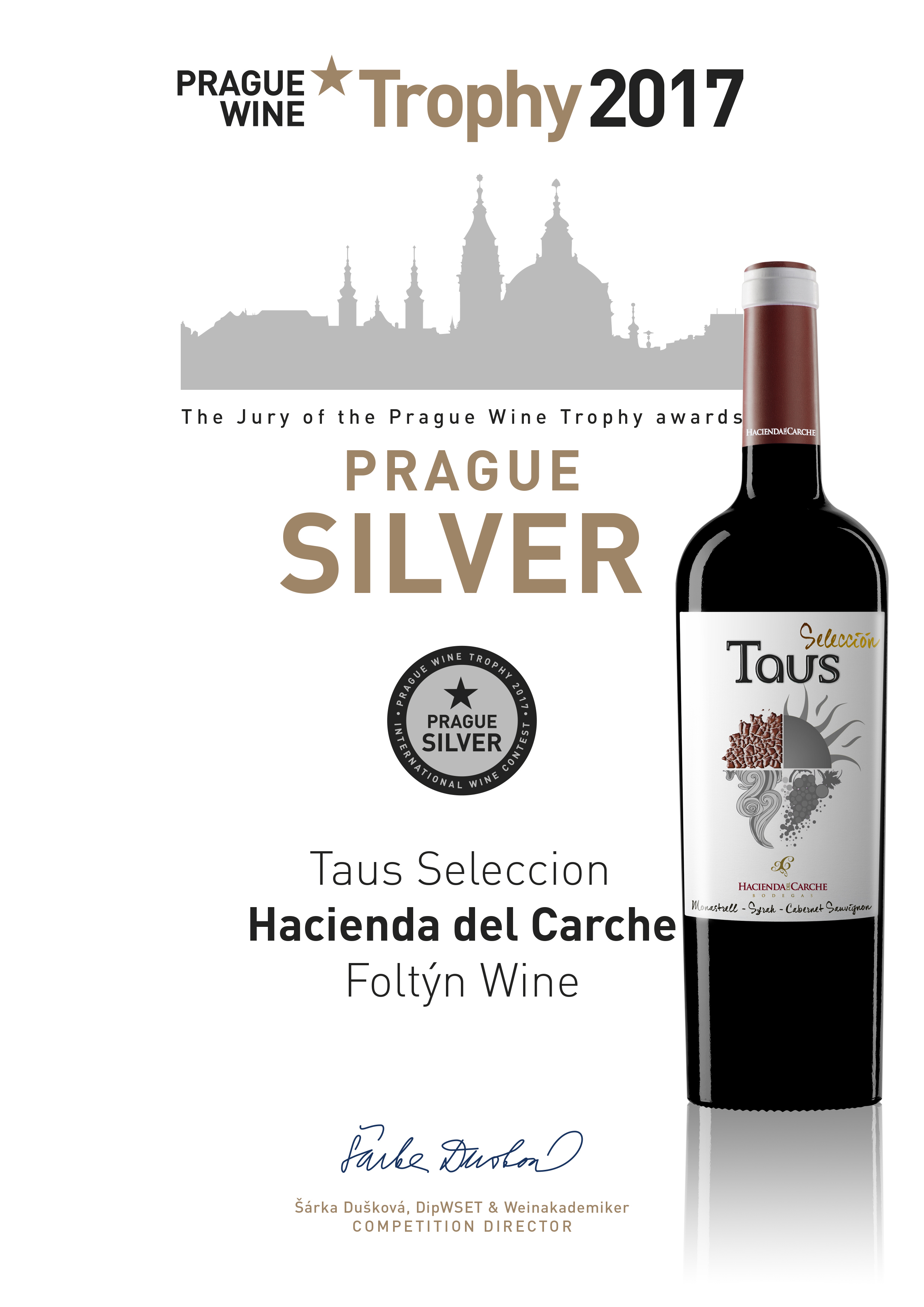 carche_taus_seleccion_2015 Prague Wine