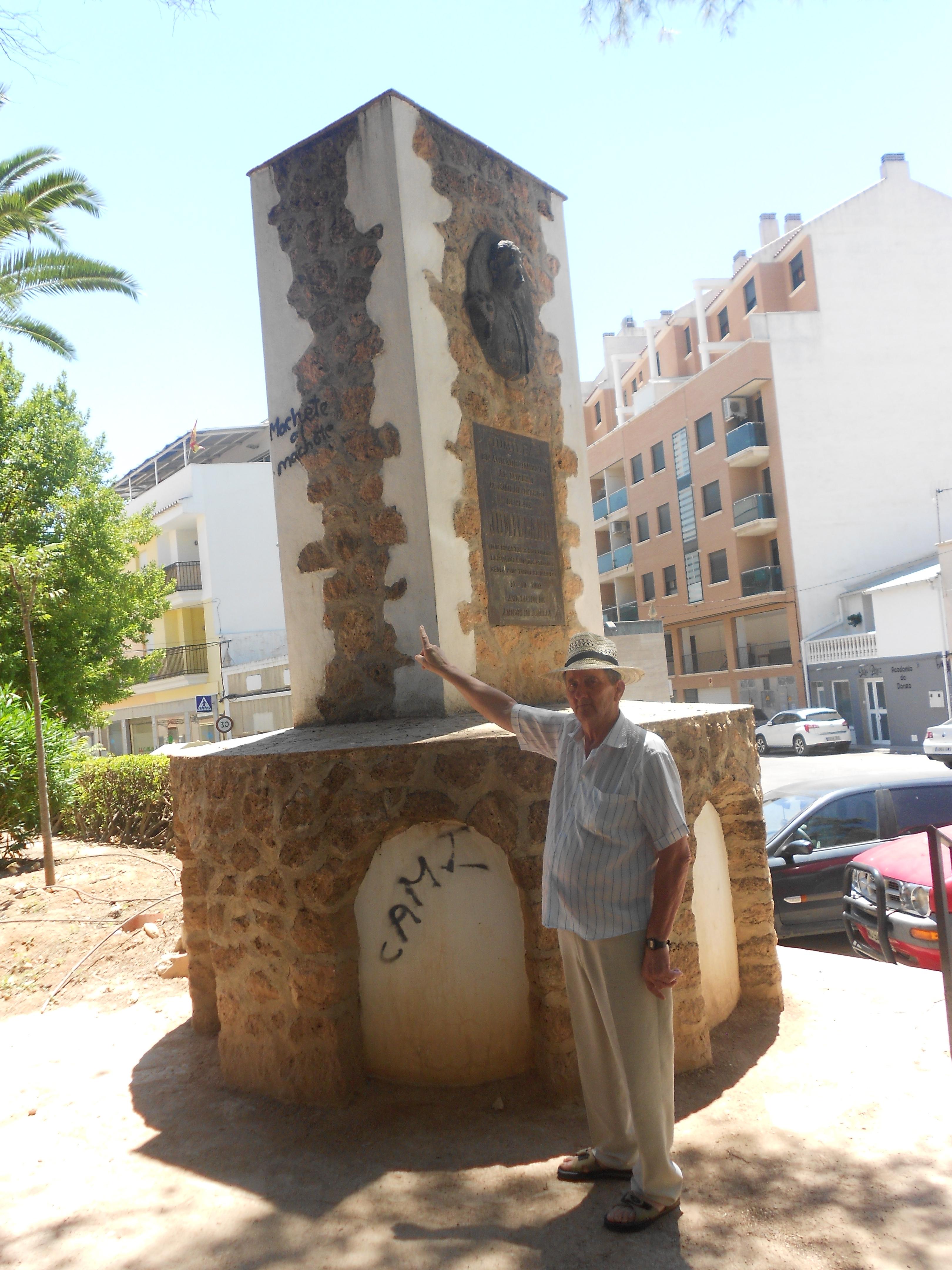 Un vecino monumento Jumillano